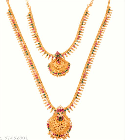 2 Layer Gold Plated Necklace for Women(Limited Edition) 2021