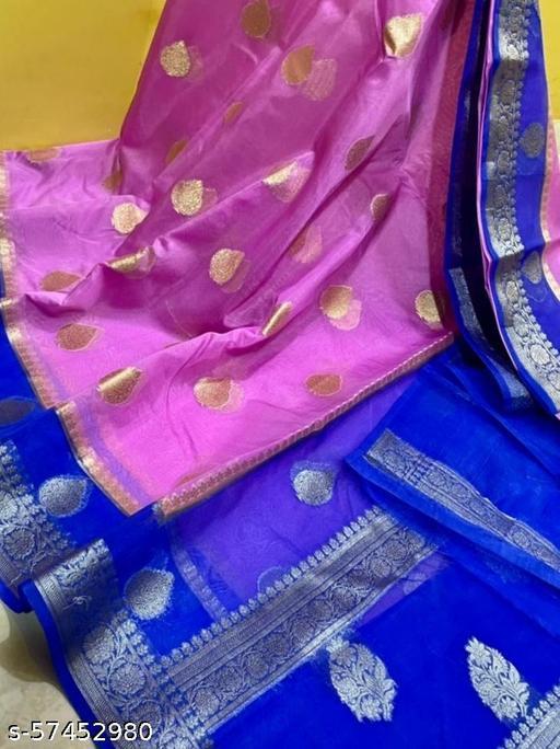 Banarasi Kora Saree (Handloom)
