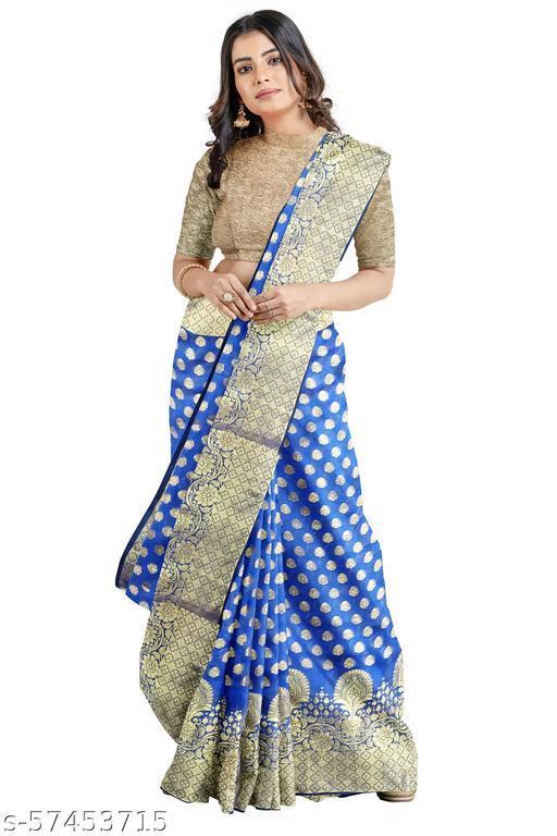 Attractive Chandery Silk Banarasi Saree