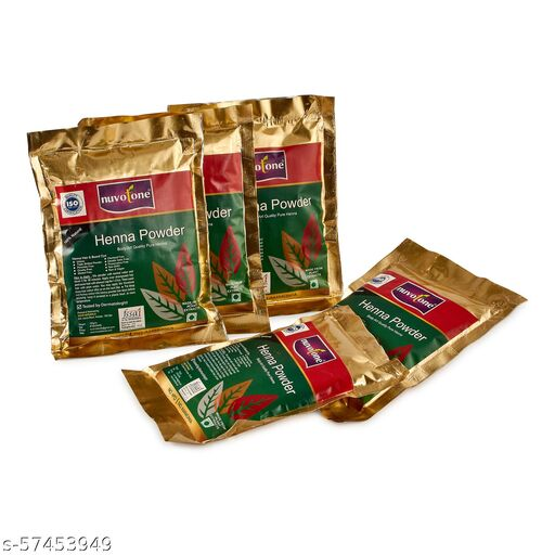 Henna powder Heir Groth Natural Heir Color(Pack of)-5