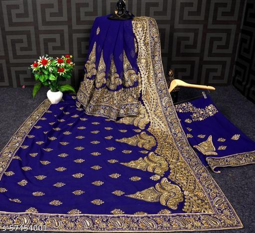 patlipallu-navy blue saree