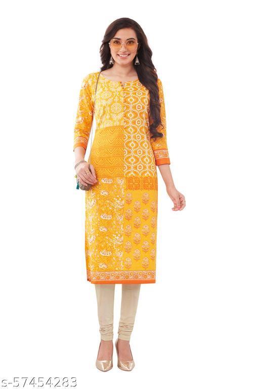 Womens Stitched Cotton Kurti