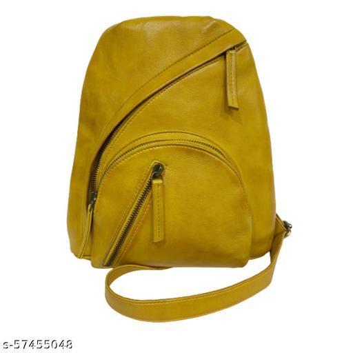 Baggary Genuine Leather Backpack