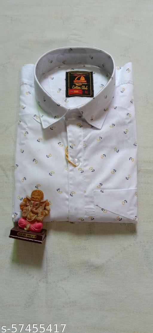 White Full Shirt.