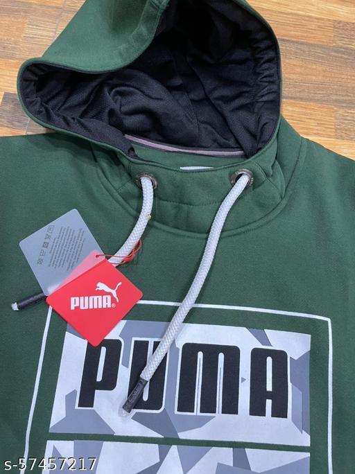 PUMA HOODY logo style