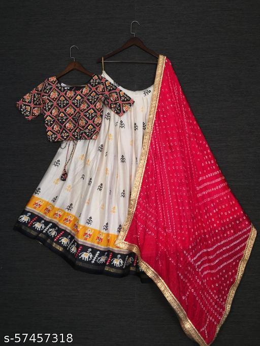 pure cotton lahenga choli