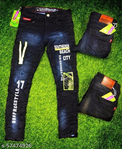 Men's Jeans In Trendy Look