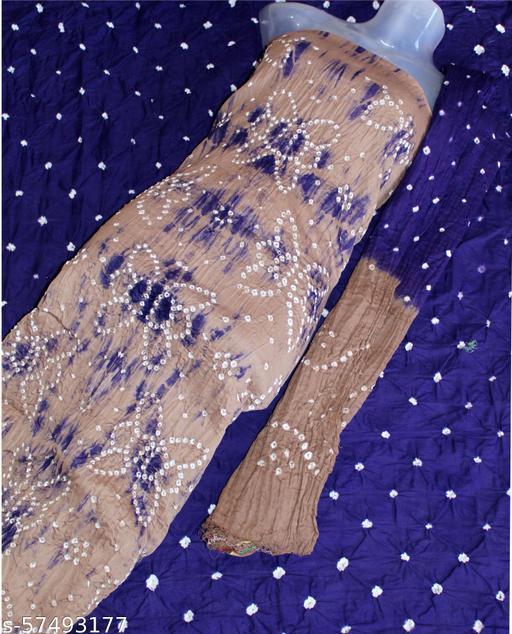 Arkaja Beautiful Bandhani Dress Material