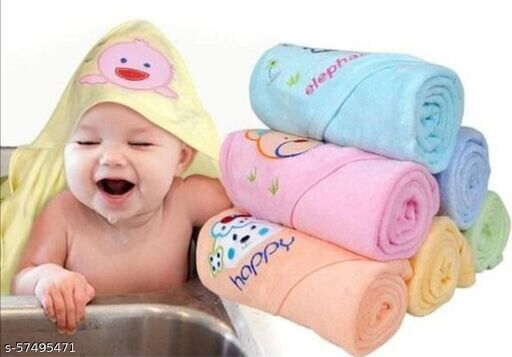 Baby Hooded Towel | Baby soft towel - VN03