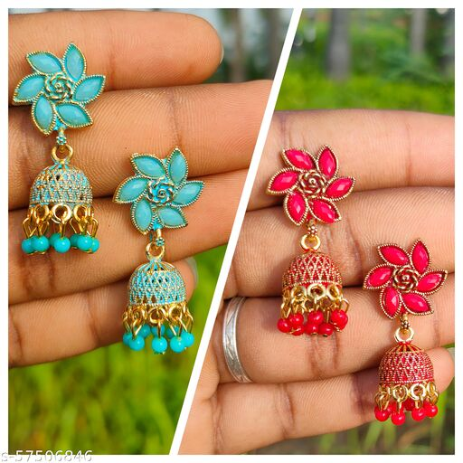 Traditional Earrings And Studs