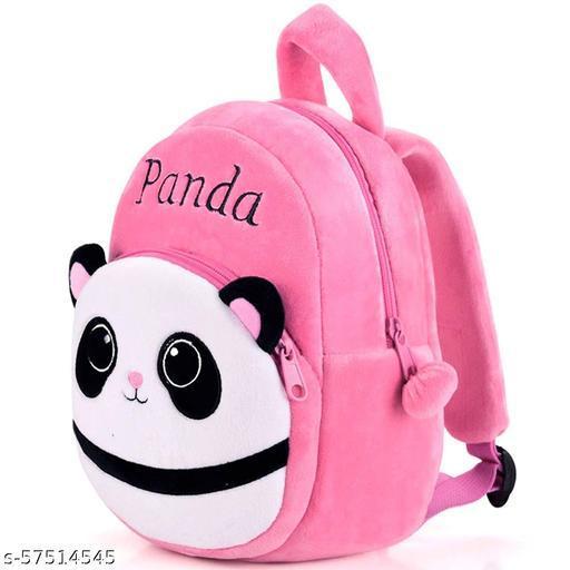 Kids Backpack Toddler Bag Plush Animal Cartoon Mini Travel Bag for Baby Girl Boy 1-6 Years (Panda)