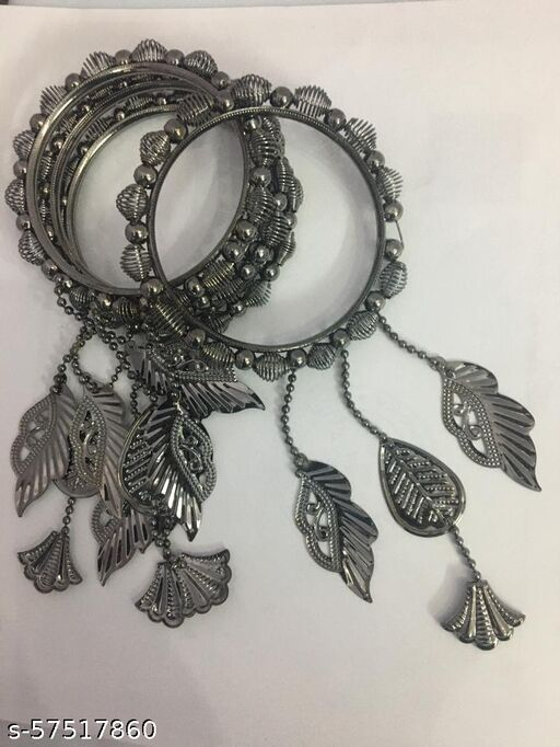 oxidized bangles set