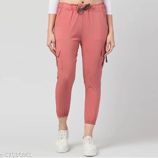 women jogger fit Cargo Cotton jeans, Women Jogger Fit Jean