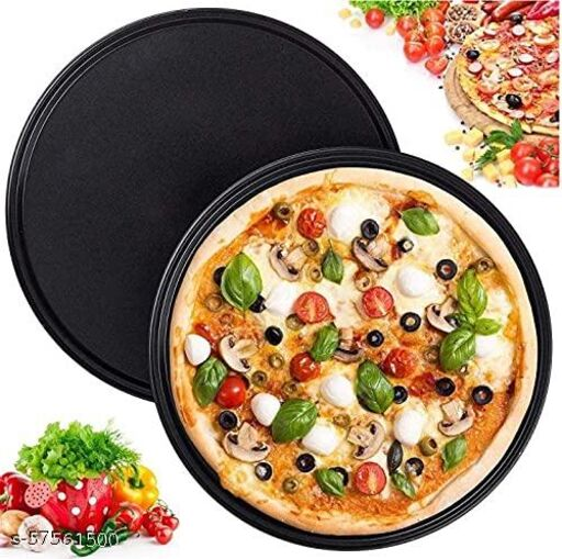 Pizza Pan (Tray) With Silicon Brush
