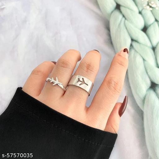 Twinkling Chunky Rings