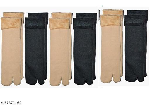 Unisex Winter Warm Socks -Pack of 6