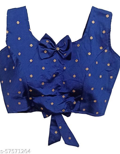PU Designer Readymade Silk Blouse Fancy design Collection