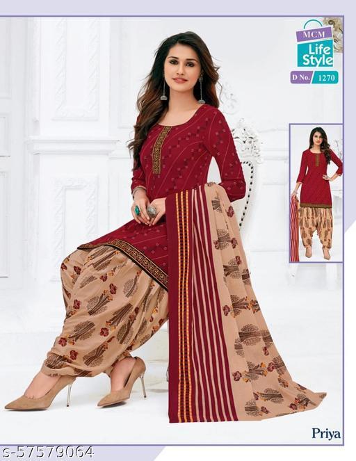 Brand: MCM/Pure Cotton Unstitched Salwar suit