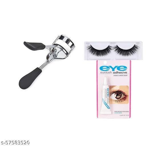 Premium Eye Lash Curler WITH False Eyelashes & its Glue