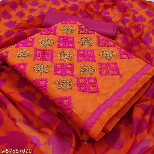 Orange Suits & Dress Materials