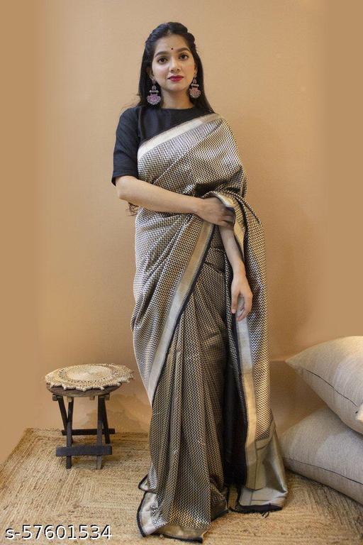 Women's Designer Traditional Pure Jacquard soft silk Parvati Saree