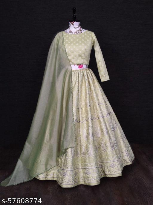Women's Fancy Semi-Stitch Lehenga Choli