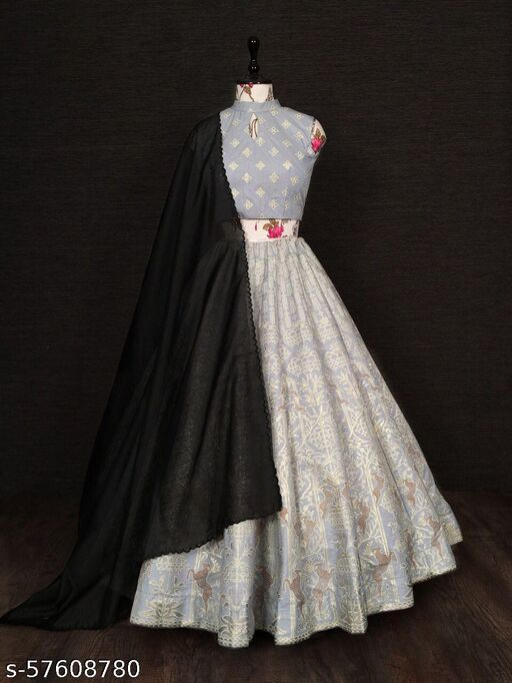 Chidiya Designer's Fancy Lehenga choli