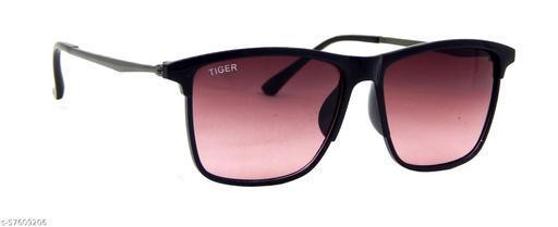 Els Men & Women, Unisex Sunglass, Rectangular, Black (55568-BLK-BUG-S)