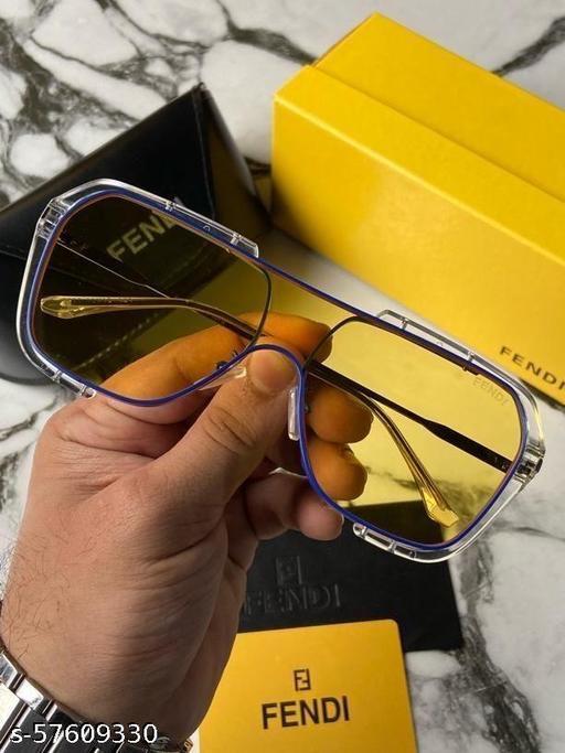 Stylish fashionable trendy Fendi  Plano sunglasses