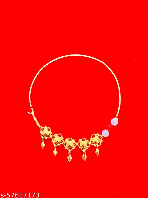Beautiful Gold Plated Nath