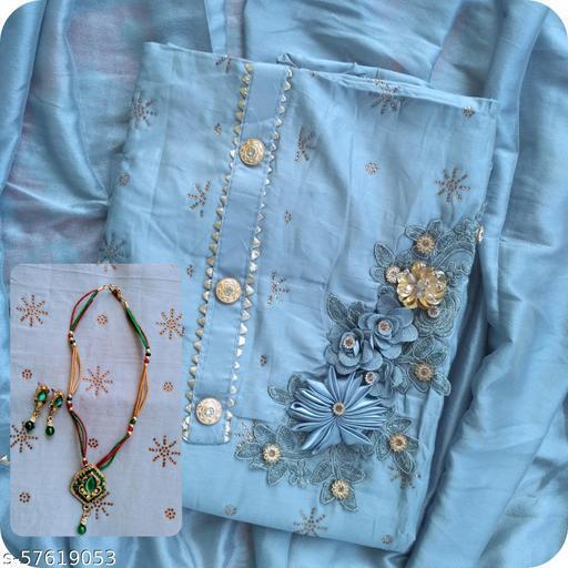 Latest Design Suite Material Woman's Fashion