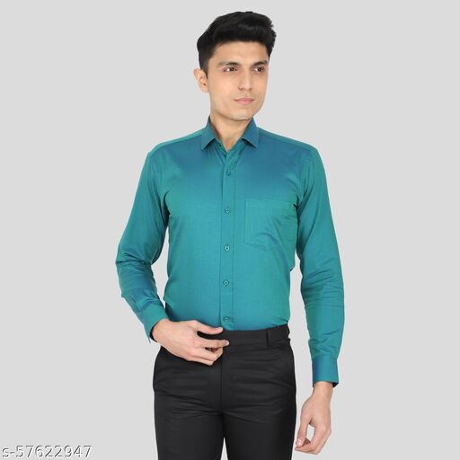 Men Regular Fit Solid Casual,FORMAL Shirt