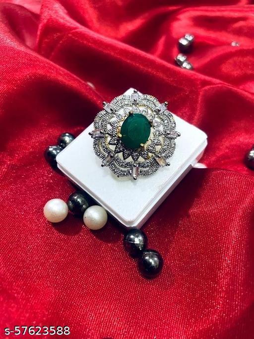 Allure Glittering Rings
