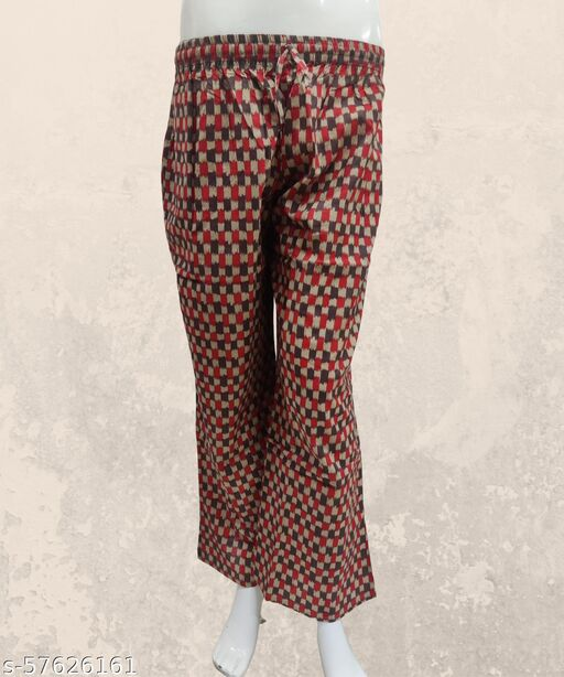 Pure Cotton Printed Palazzos for women