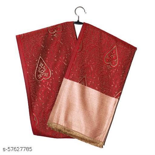 Red Stylish Acrylic Shawl
