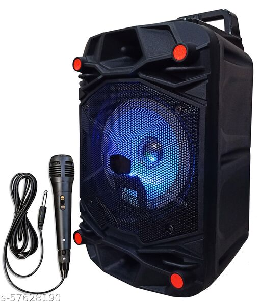 Premium Gold Quality X-tra Bass With Karaoke MIc Blast Sound  5001 with Super deep Bass Wireless Rechargeable dj Sound Bluetooth Speaker Support TF/USB/Pen Drive/AUX Slot