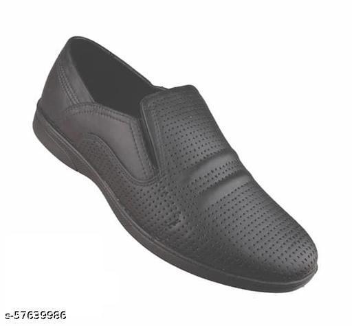 Stylish Men's Black Loafers