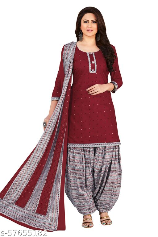 Exclusive collection of pure cotton unstitched suits & Dress Material for Women and Girls