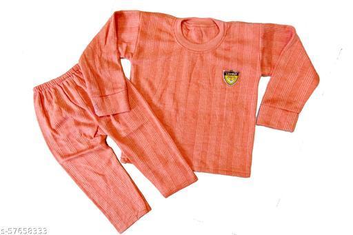 Kids Unisex Trendy Thermal Set Pack of 1