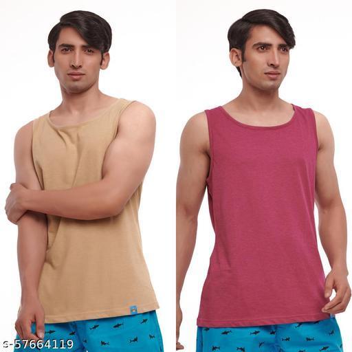 Lazy Tank Tops for Men - Pack of 2 Vest
