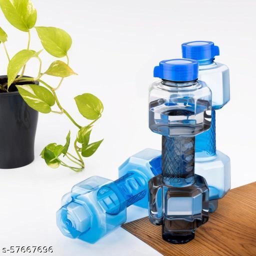 Plastic Dumbbell Shape Water Bottle