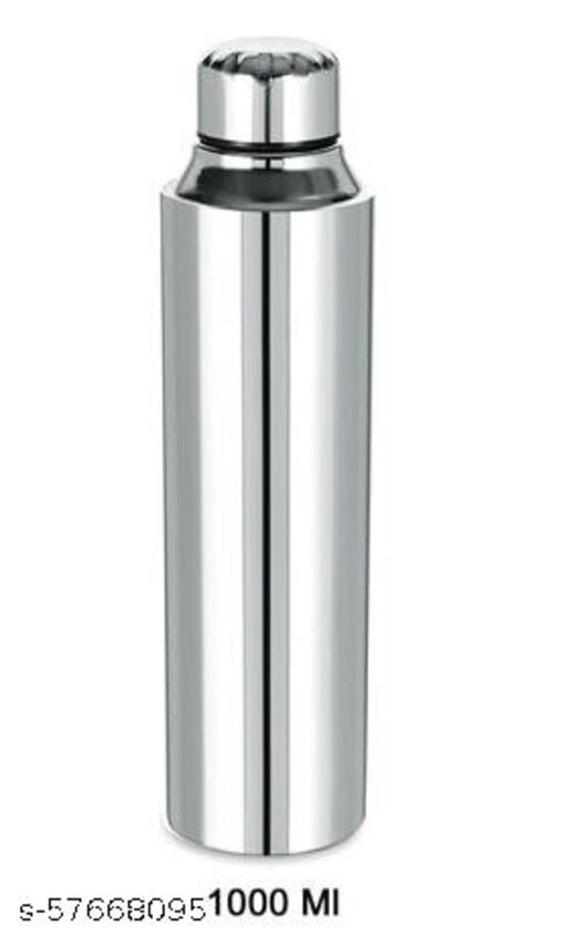 OVATIX Stainless Steel Fridge Water Bottle/Refrigerator Bottle (1000ml Bottle)