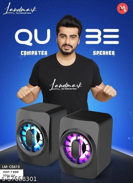 landamark cube computer speaker