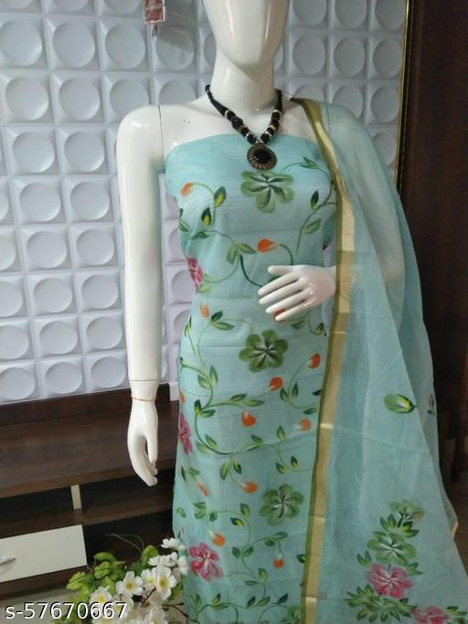 Kota Doria Painting Suit
