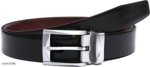 Men's Pure-Leather Artificial Reversible Belt Casual & Formal