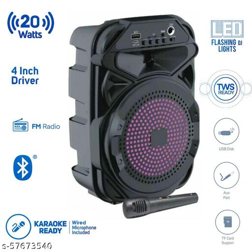 Wireless Bluetooth Speaker with mic Connected with all smartphones