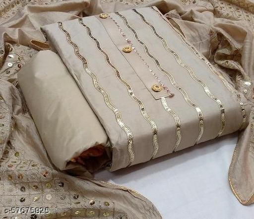 p c cotton with dupaatta work