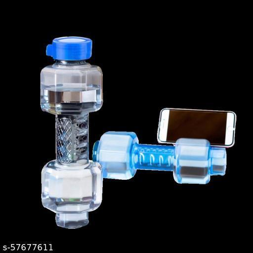 Unbreakable Plastic dumbbell Shape Water Bottle