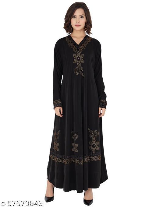 Burqa Abaya crystal lycra