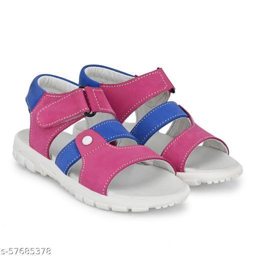 Kids Footwear Velcro Straps Sandals - Pink